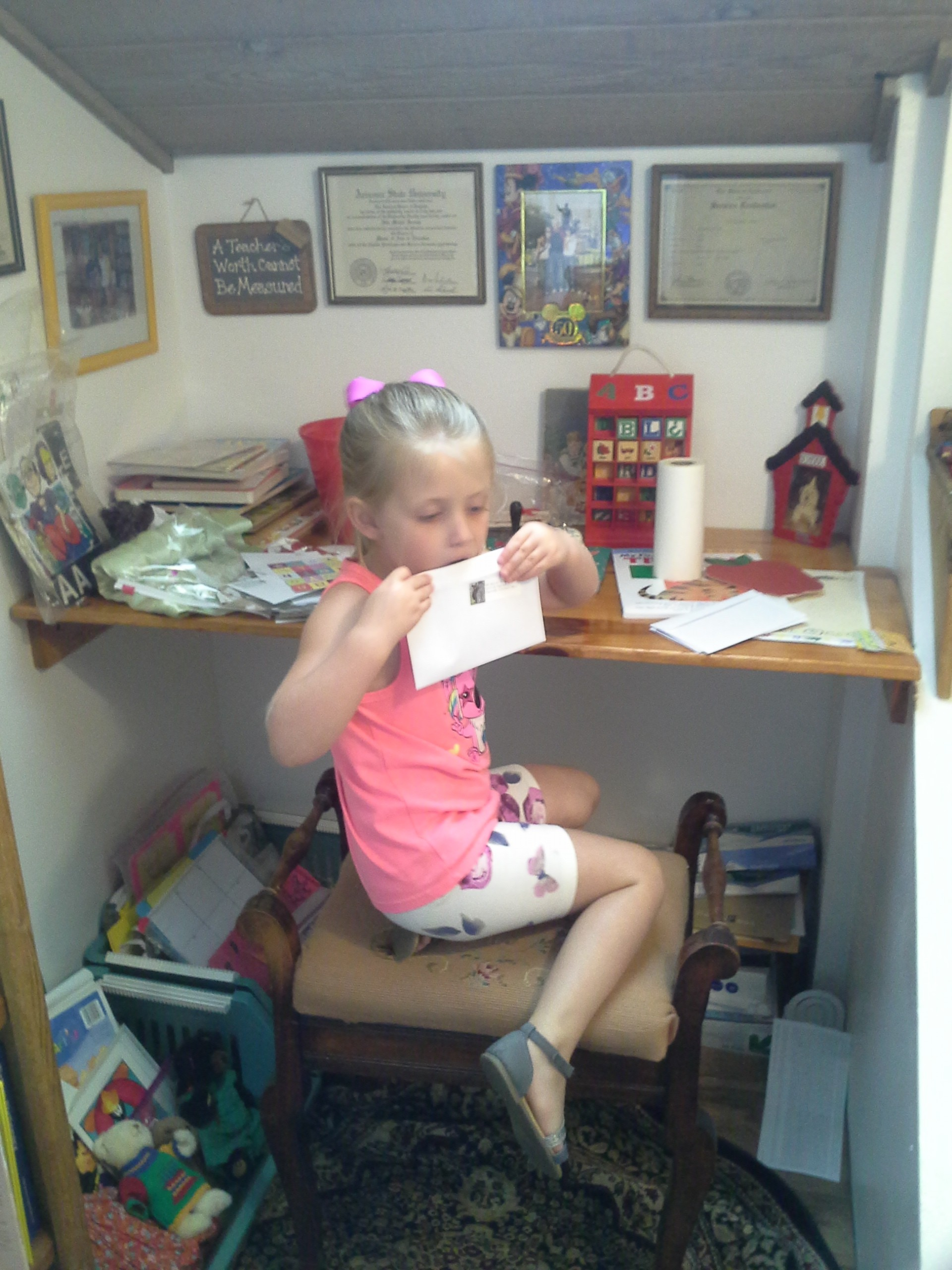 Reading nooks are great for young learners.