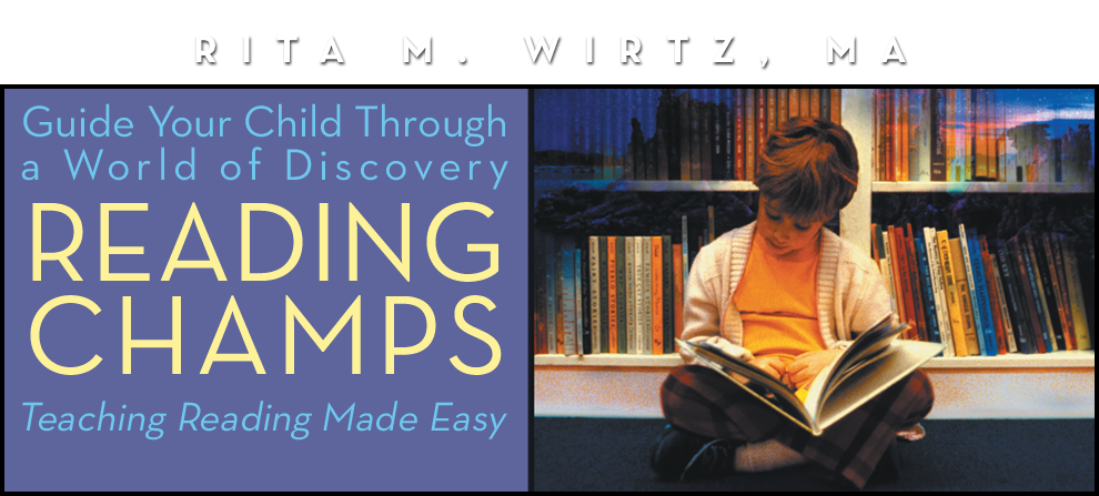 Reading Champs – Rita M. Wirtz, MA